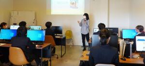 宮崎キャリア・デザインスクールで企業講話を行いました!